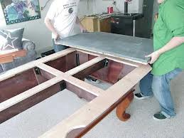 Pool table moves in Matthews North Carolina