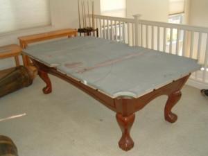 Proper pool table moving process in Matthews North Carolina